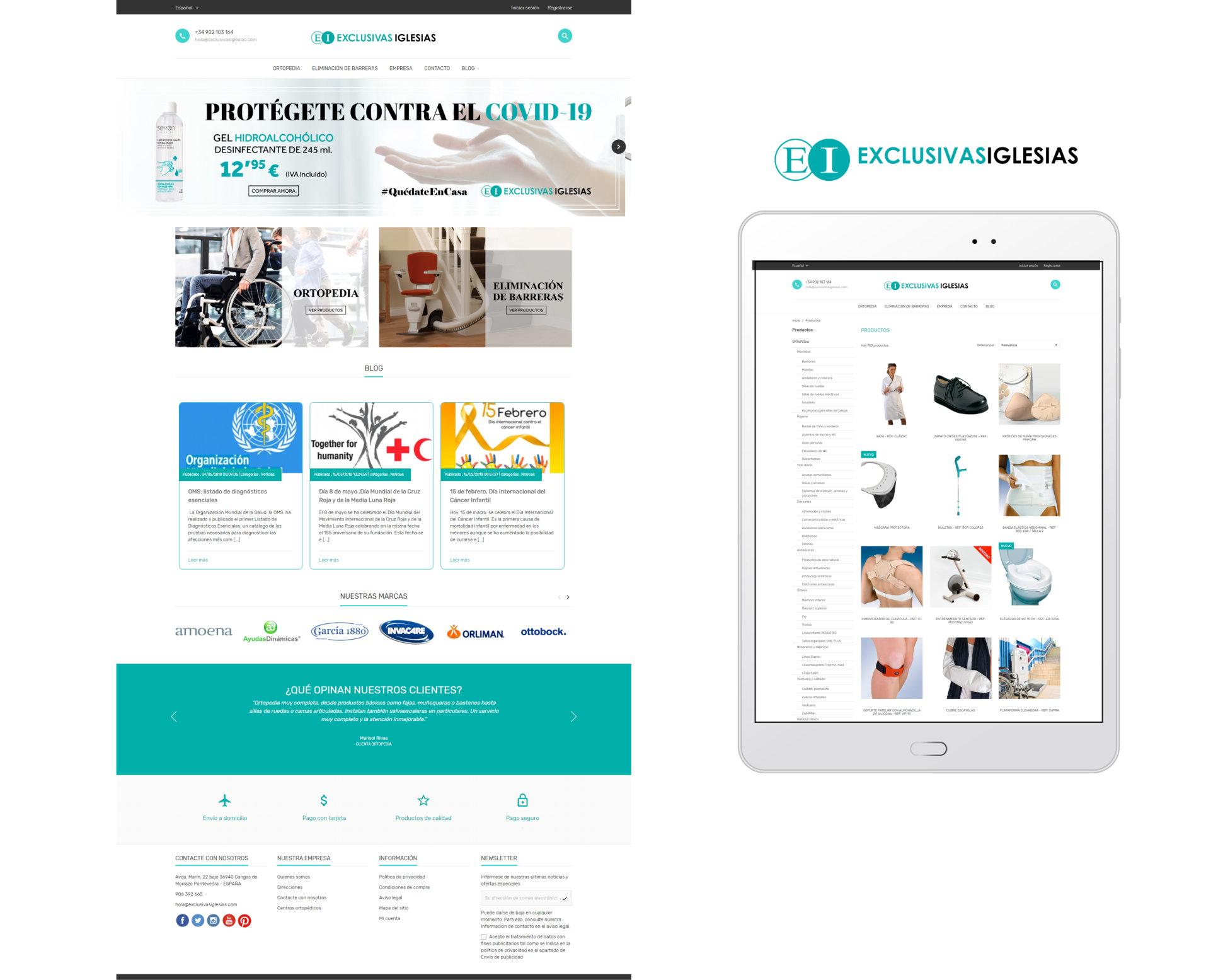 Diseño de Catálogo Online de Distribución